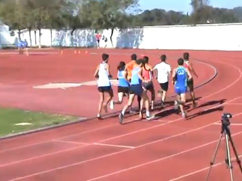 Control Federativo 10.000 metros. Carmona (Sevilla) 29F 2016