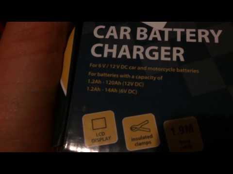 AutoXs 6/12v battery charger