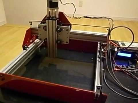 building cnc machine