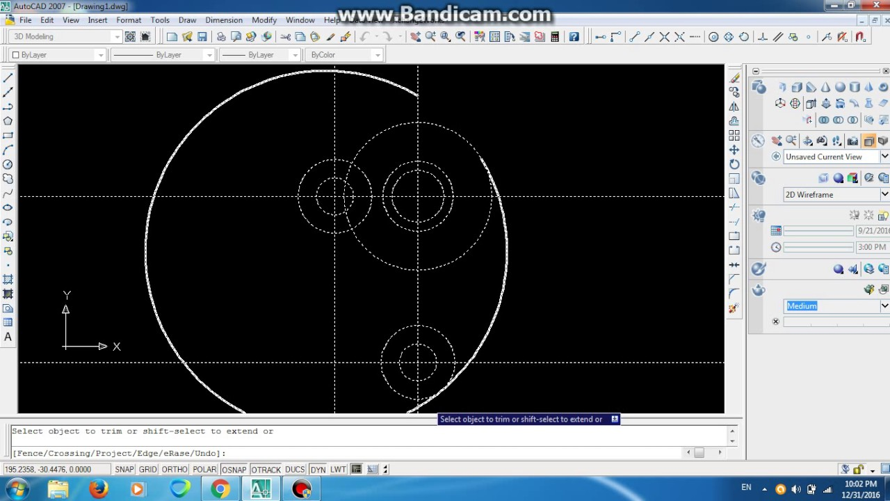 2d simple autocad drawing example youtube for Simple cad drawing online