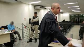 Debates: Plenário do Tribunal do Júri de Itabira. Ércio Quaresma Firpe.