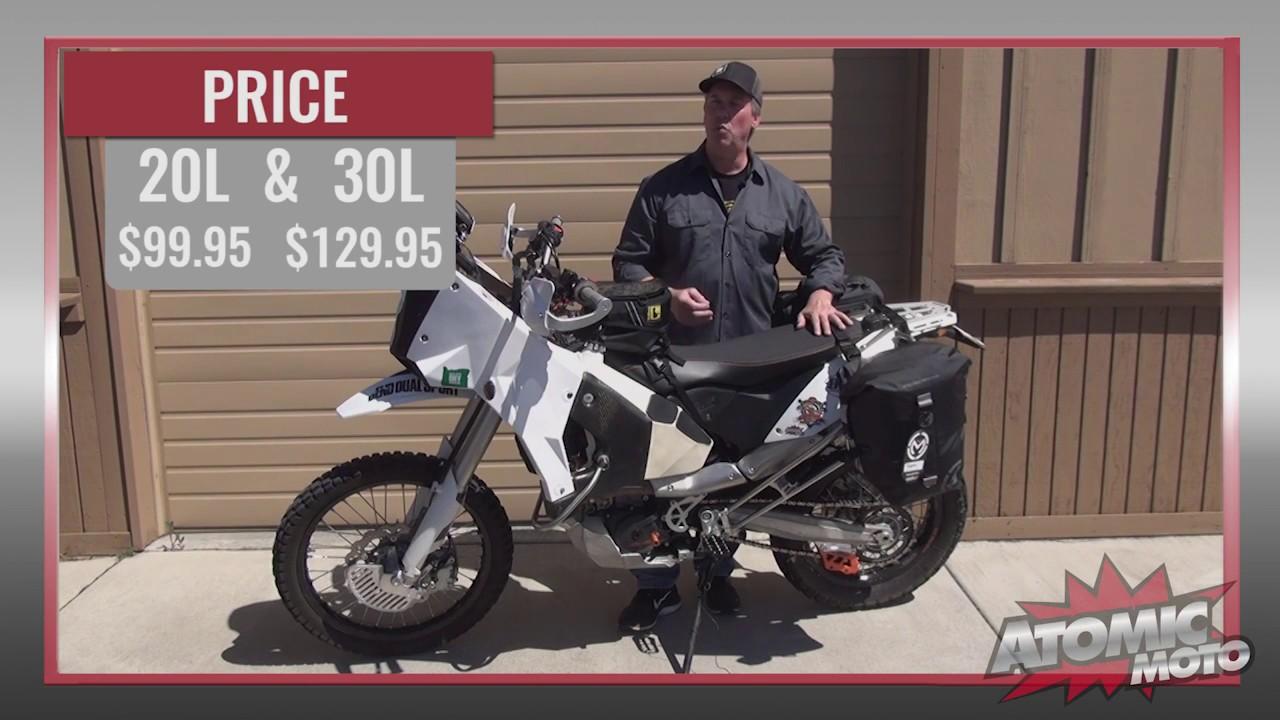 Moose Racing ADV1 Adventure Motorcycle Dry Waterproof Trail Pack 25L