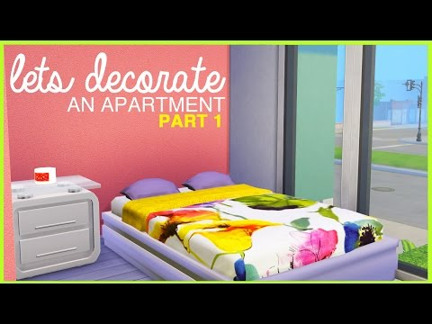 The Sims 4 |Let's Decorate an Apartment | Part1 |