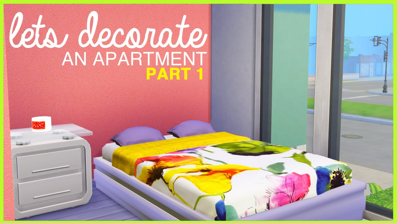 The Sims 4 |Let's Decorate an Apartment | Part1