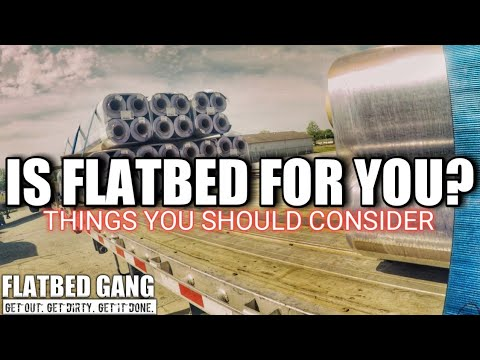 Flatbed Trucking | Is It For You | Winch Technique