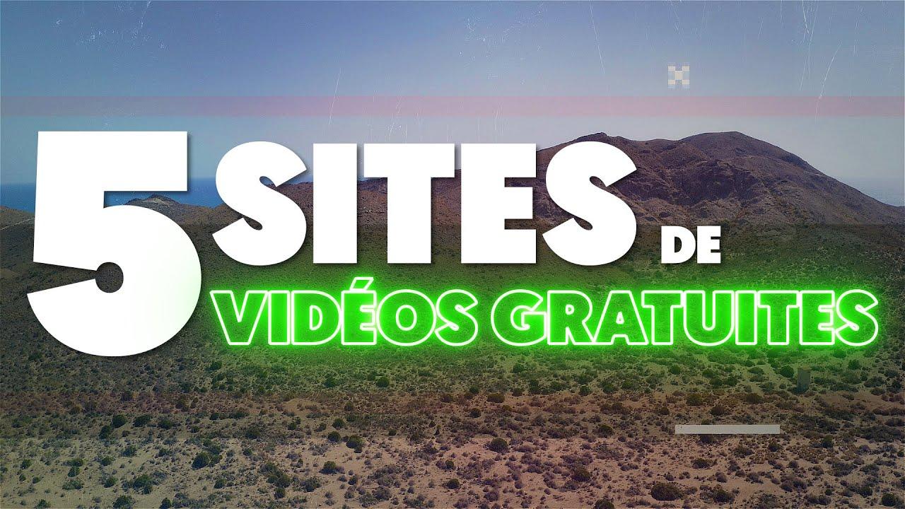 5 SITES de VIDEOS LIBRES DE DROITS GRATUITES (Stockshots montage vidéo)