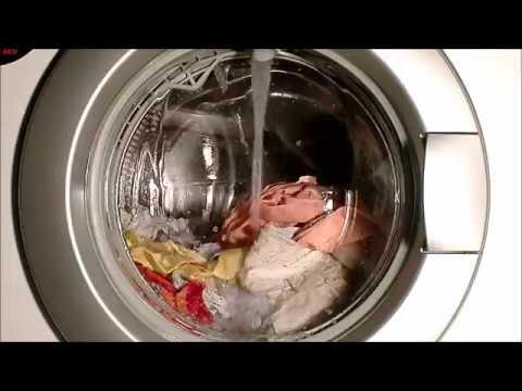 aeg lavamat 84800 aqua alarm waschmaschine youtube