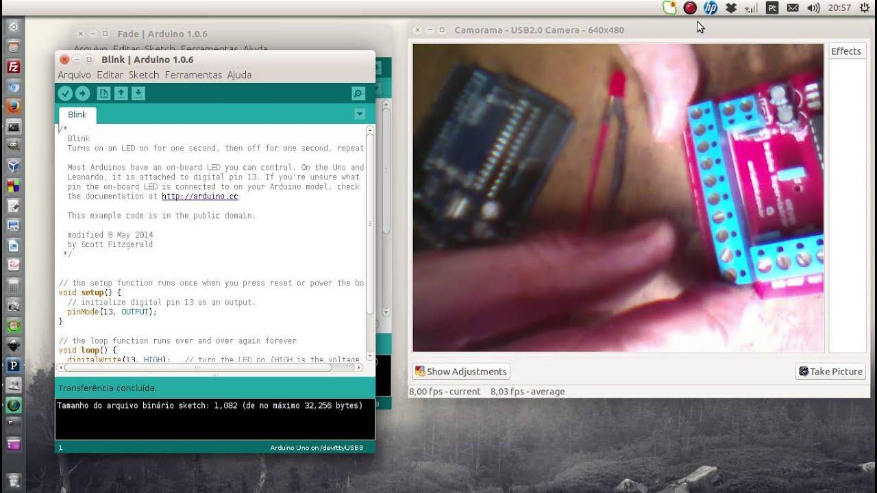 Arduino supervisorio rev plug and play youtube