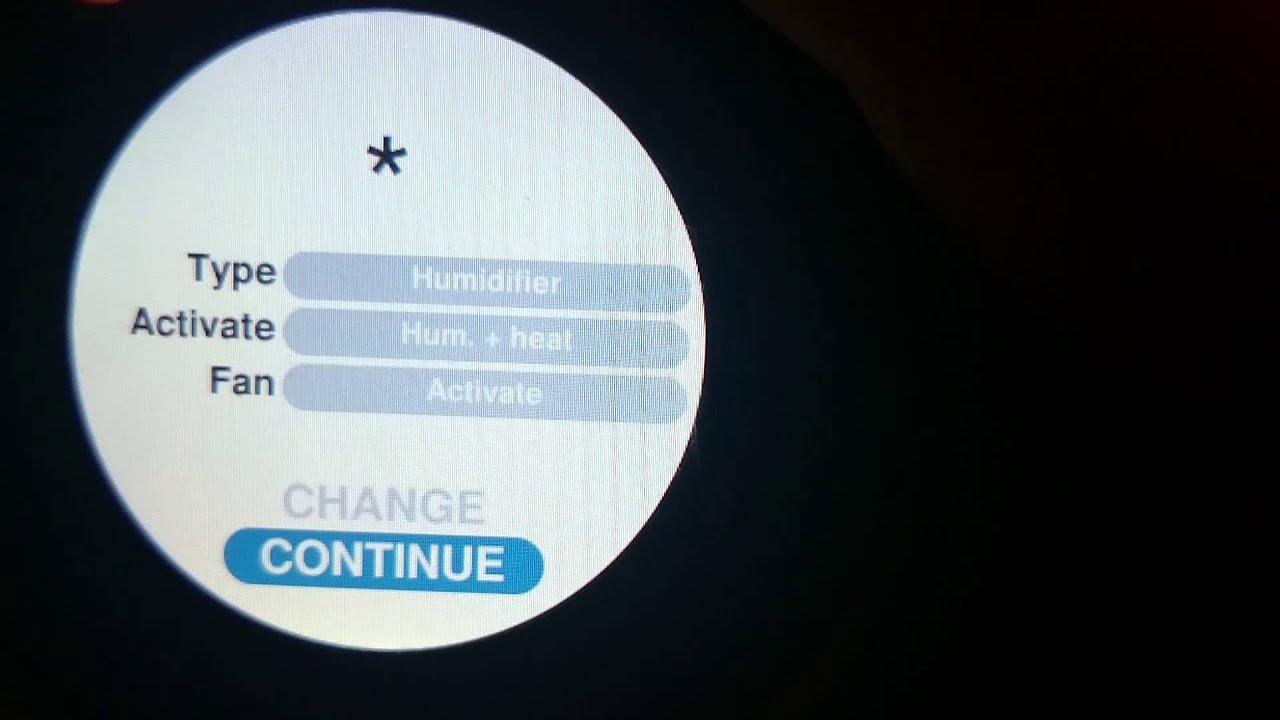 Setup Nest Scratch Flowthrough Buypass Humidifier   #227BA9