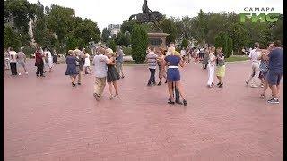 Аргентина в Самаре. На городской набережной прошел танго-флэшмоб