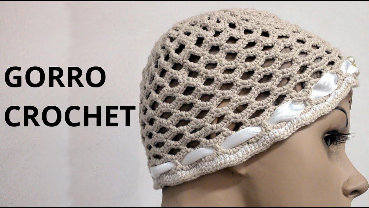Increíble Patrón De Crochet Para Sombreros Foto - Manta de Tejer ...