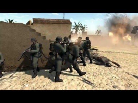 Desert Village Defense - Men of War Cinematic
