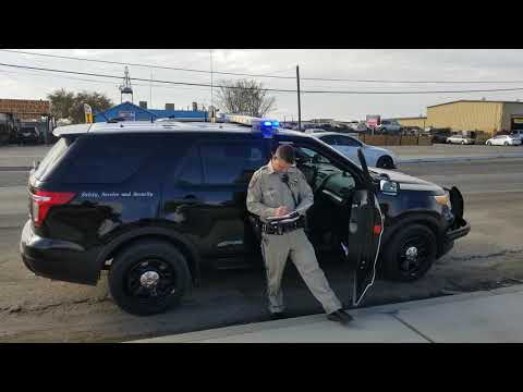 CHP Pig gives us no Respect (1st amendment)