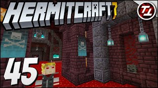 The Entire Nether Quadrant of Decked Out!? - Hermitcraft 7: #45