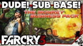 Far Cry 3 - Monkey Business DLC Walkthrough (Part 4) - Dude! Sub Base!