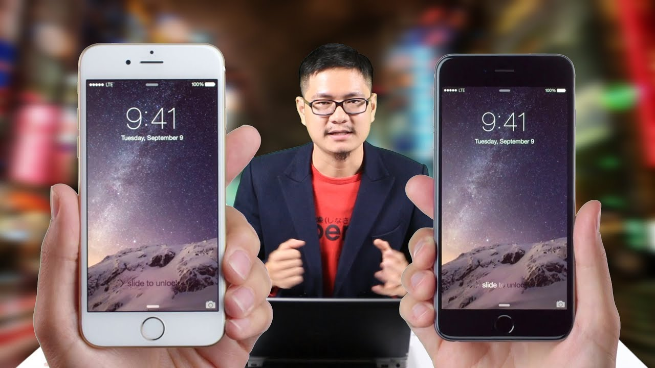 So sánh iPhone 6 Plus vs iPhone 6s : 6 triệu mua điện thoại gì?