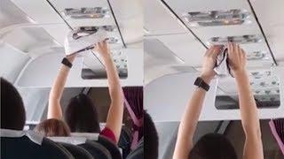 Gambar cover Wanita Ini Keringkan Celana Dalam Menggunakan AC di Pesawat