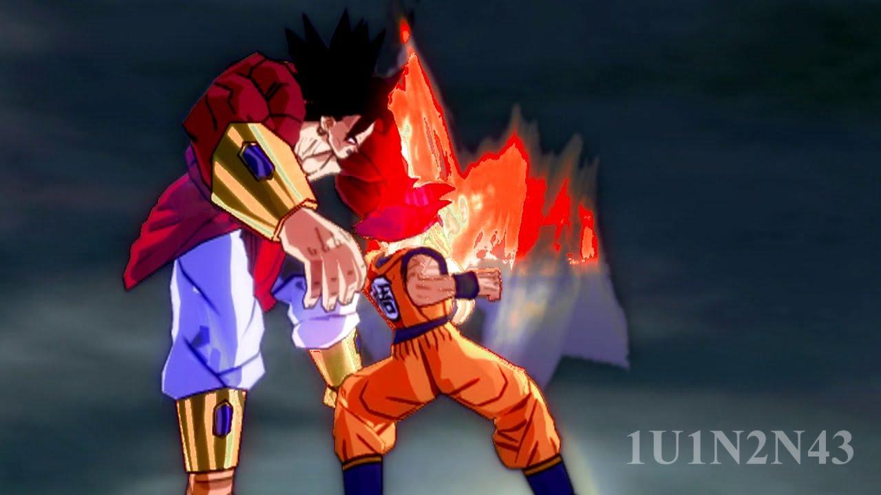 [最強バトル] 超サイヤ人ゴッド孫悟空 VS 伝説のスーパーサイヤ人4ブロリー [再現] , YouTube