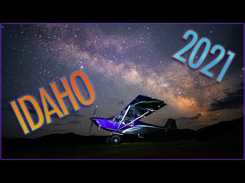 Exploring the IDAHO Backcountry in a Bushplane - 2021 edition