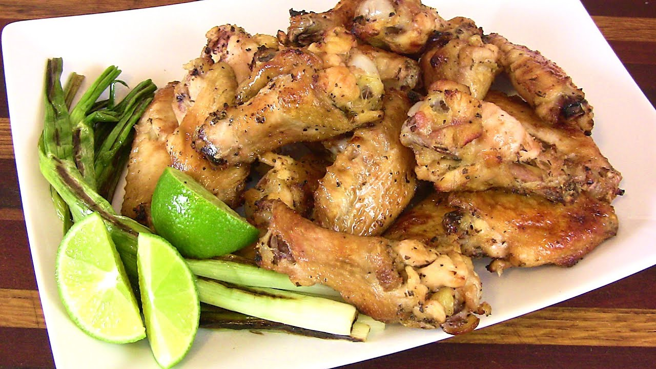 TEQUILA LIME WINGS RECIPE -Super Bowl Recipes |Cooking With Carolyn