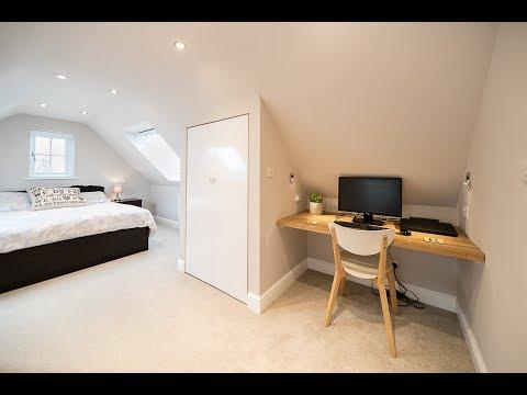 Side dormer loft conversion in Guildford, Surrey