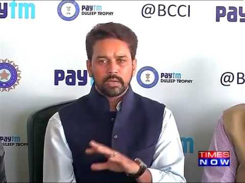 'Shashank Manohar Left BCCI for ICC' Accuses Anurag Thakur
