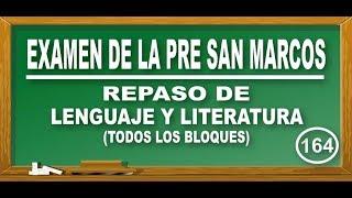 REPASO DE LENGUAJE Y LITERATURA: LA FRASE - LIT. ESPAÑOLA - EXAMEN PRE SAN MARCOS-CEPREUNMSM