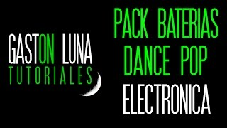 Pack de Loops de Baterias para producir Dance Pop Electronica o Remixar