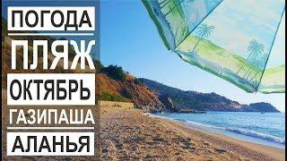 Турция: Жаркий октябрь в Аланье. Лето продолжается. Пляж Айсултан. Плантации бананов