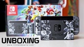 Unboxing   Super Smash Bros. Ultimate Nintendo Switch Bundle