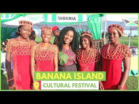 BANANA ISLAND CULTURAL FESTIVAL 2017 | MY SUBSCRIBERS FROM JAPAN!