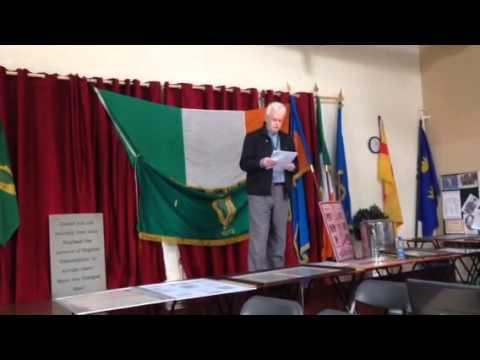 Irish volunteers easter commemoration 2014