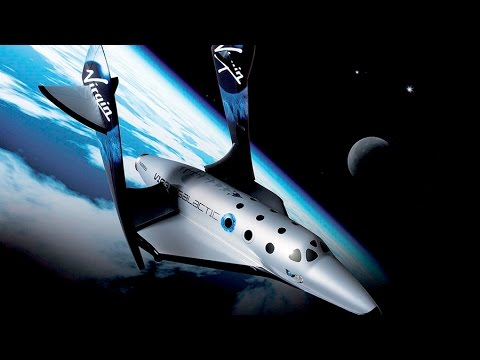 One step closer to space tourism: Sir Branson on SpaceShipTwo