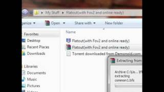 How to download FlatOut For PC Free!