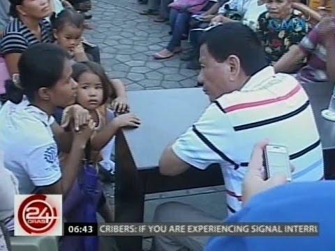 24 Oras: Si Duterte sa mata ng mga taga-Davao