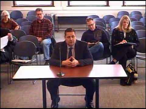 March 3, 2018: Town Manager Interviews