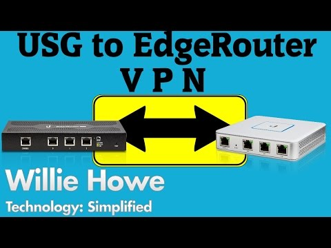 USG to EdgeRouter Site-to-Site VPN - YouTube