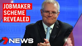 Jobmaker: Scott Morrison Flags Roadmap For Journey Out Of Covid | 7news