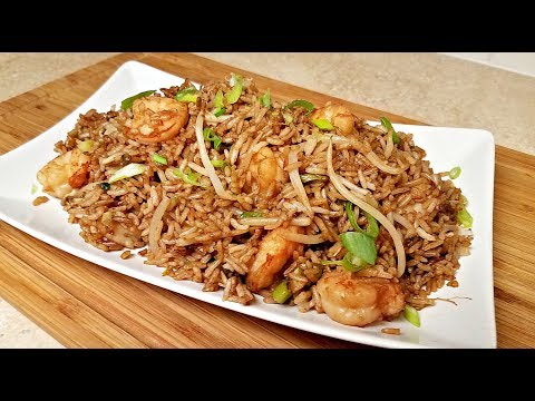 Easy Shrimp Fried Rice Recipe | How to Make Fried Rice | Chinese Take Out Style Fried Rice