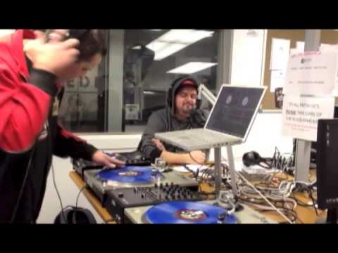 Delta & Staen1 performing the single 'Alien' Live on Air (2012)