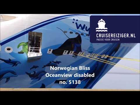 Norwegian Cruise Line Oceanview disabled no. 5138