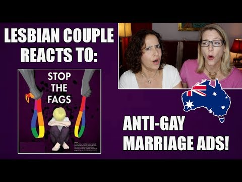 Lesbian Couple Reacts to Anti-Gay Marriage Ads : Australia Postal Vote : Lacie and Robin