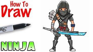 How to Draw the Ninja | Fortnite