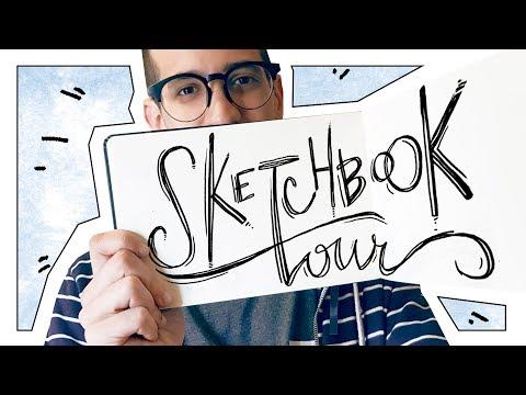 Inktober y Sueños - SKETCHBOOK TOUR 7 - Kaos