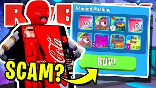 *NEW* VENDING MACHINE GIVES OUT *SECRET* RARE PETS IN ROBLOX BUBBLEGUM SIMULATOR!! [UPDATE 29]