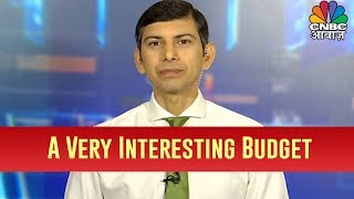 Market Expert Udayan Mukherjee Says The Budget Is A Very Interesting One, A Mixture Of Good & Bad