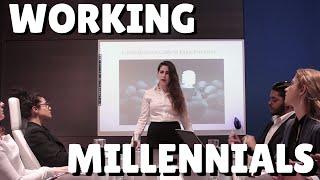 """Working Millennials"" by Sarah Seeds    Pilot Characters 1/3"