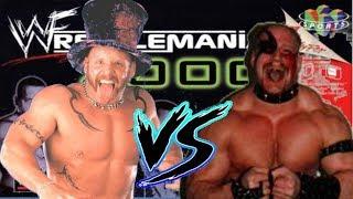 WWF Wrestlemania 2000 Droz vs Hawk