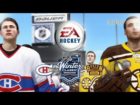 NHL Legacy | 2016 Winter Classic | Canadiens v.s. Bruins