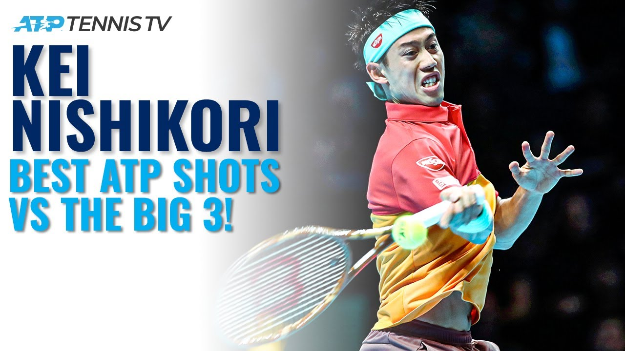 Kei Nishikori Best ATP Shots & Rallies vs The Big 3!